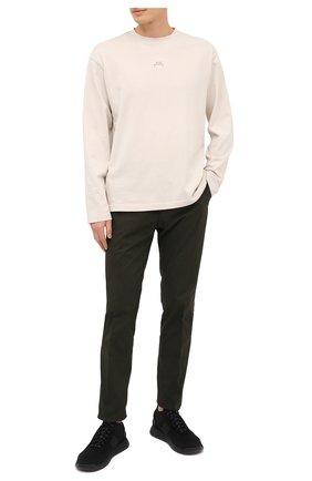 Мужские текстильные кроссовки BOSS черного цвета, арт. 50414734 | Фото 2