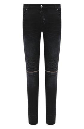 Мужские джинсы AMIRI черного цвета, арт. W0M01517SD | Фото 1