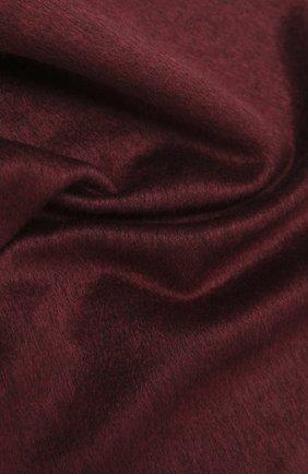 Мужской шарф из шелка и кашемира CANALI бордового цвета, арт. 06/TX00179 | Фото 2
