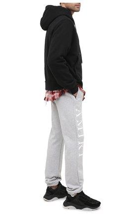 Мужской хлопковые джоггеры AMIRI серого цвета, арт. F0M09152TE | Фото 2