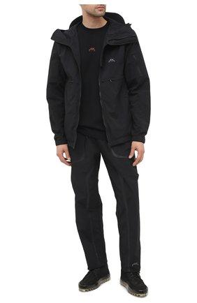 Мужские комбинированные кеды RBRSL черного цвета, арт. 7Y2282U.Y40TYET374 | Фото 2