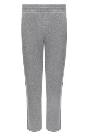 Мужской хлопковые брюки BRIONI серого цвета, арт. UJDJ0L/09630 | Фото 1