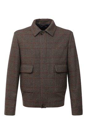 Мужская кашемировая куртка LORO PIANA темно-коричневого цвета, арт. FAL4294 | Фото 1