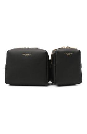 Мужская кожаная поясная сумка monreale DOLCE & GABBANA черного цвета, арт. BM1871/AC954 | Фото 1