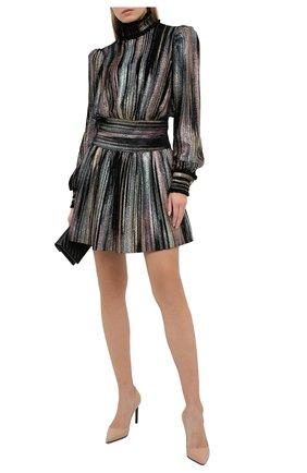 Женское платье из вискозы BALMAIN разноцветного цвета, арт. UF16306/J062 | Фото 2