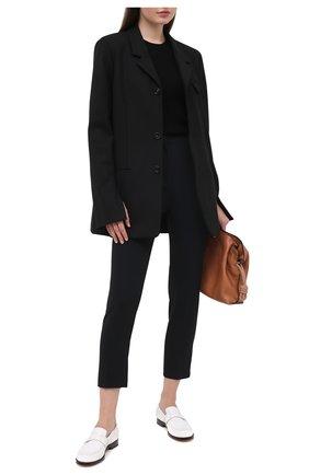 Женские брюки из вискозы ZUHAIR MURAD черного цвета, арт. TRP20316/CRCA007 | Фото 2