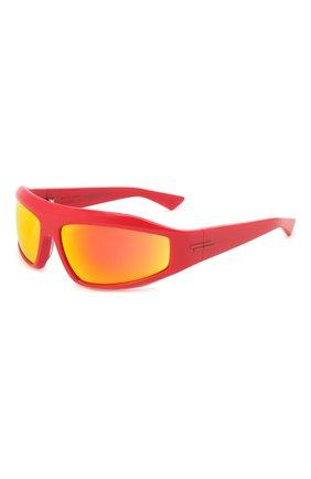 Женские солнцезащитные очки BOTTEGA VENETA красного цвета, арт. BV1078S | Фото 1