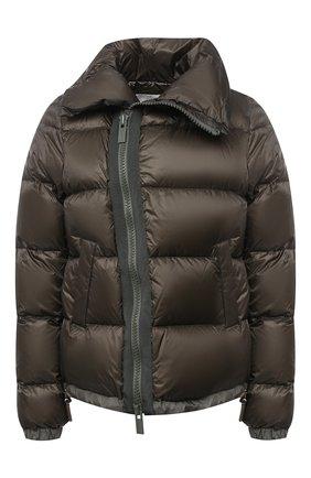 Женский пуховая куртка SACAI хаки цвета, арт. SCW-037 | Фото 1