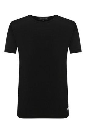 Мужская футболка ERMENEGILDO ZEGNA черного цвета, арт. N3M201090 | Фото 1