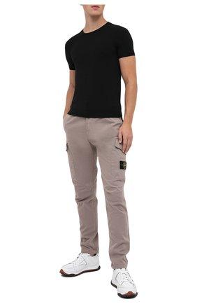Мужская футболка ERMENEGILDO ZEGNA черного цвета, арт. N3M201090 | Фото 2