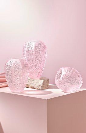 Мужского ваза sakura LALIQUE светло-розового цвета, арт. 10723200 | Фото 2