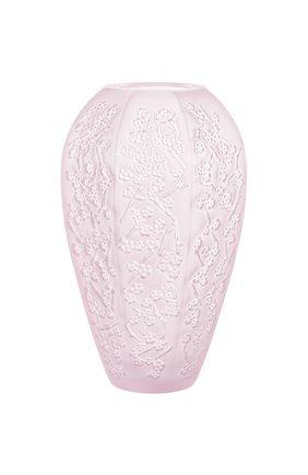 Мужского ваза sakura LALIQUE светло-розового цвета, арт. 10724000 | Фото 1