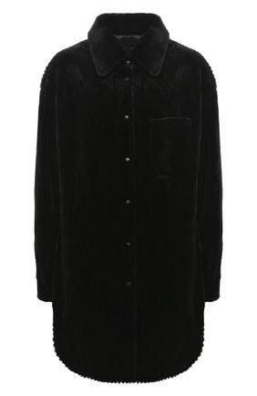 Женский жакет из меха норки KUSSENKOVV черного цвета, арт. 741520002531 | Фото 1