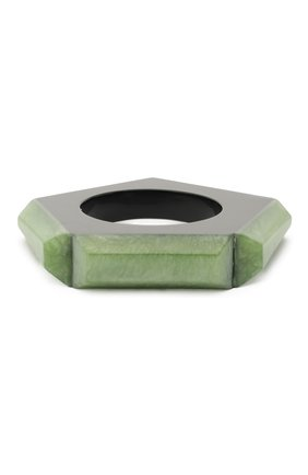 Женский браслет GIORGIO ARMANI светло-зеленого цвета, арт. 61B222/0A322 | Фото 1