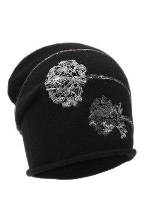 Женский шапка из шерсти и кашемира VALENTINO черного цвета, арт. UW0HB00J/QSS   Фото 1