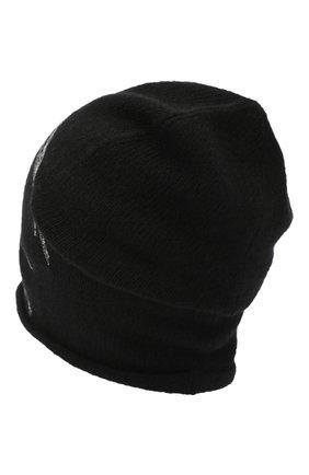 Женский шапка из шерсти и кашемира VALENTINO черного цвета, арт. UW0HB00J/QSS   Фото 2