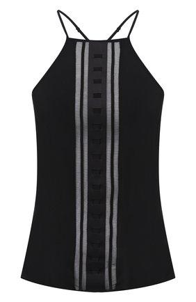 Женская топ CHANTAL THOMASS черного цвета, арт. TTG410 | Фото 1