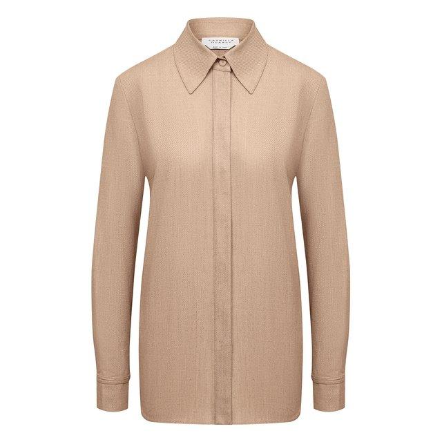 Рубашка из шерсти и кашемира Gabriela Hearst