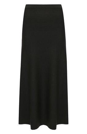 Женская юбка из шерсти и шелка GABRIELA HEARST хаки цвета, арт. 120933 A004 | Фото 1