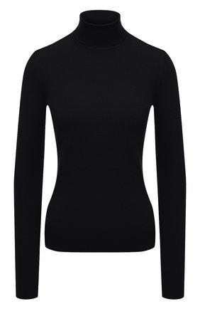 Женская водолазка из шерсти и шелка GABRIELA HEARST черного цвета, арт. 120934 A004 | Фото 1