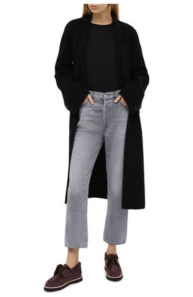 Женские кожаные ботинки LE SILLA темно-коричневого цвета, арт. 6188R020M1LLBUR | Фото 2