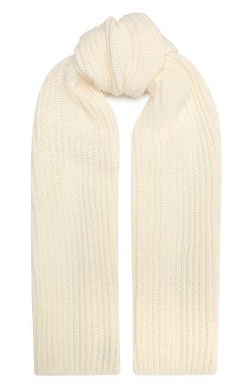 Мужские кашемировый шарф LORO PIANA белого цвета, арт. FAL4841 | Фото 1