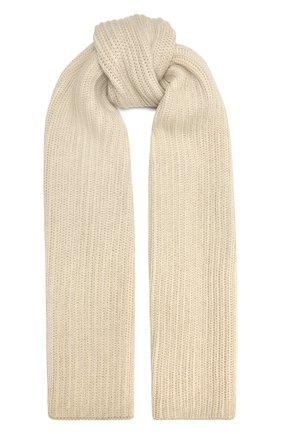 Мужские кашемировый шарф LORO PIANA светло-серого цвета, арт. FAL4377 | Фото 1