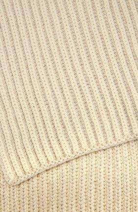 Мужские кашемировый шарф LORO PIANA светло-серого цвета, арт. FAL4377 | Фото 2
