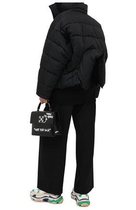 Женский пуховик BALENCIAGA черного цвета, арт. 626542/TYD33 | Фото 2