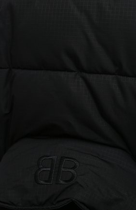 Женский пуховик BALENCIAGA черного цвета, арт. 626542/TYD33 | Фото 5