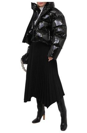 Женский пуховик BALENCIAGA черного цвета, арт. 626544/TGQ10 | Фото 2