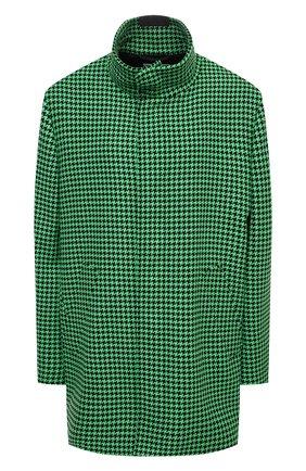 Женское шерстяное пальто BALENCIAGA зеленого цвета, арт. 626572/TIU12 | Фото 1