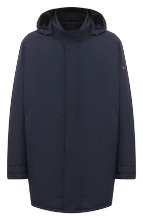 Мужская утепленная куртка PAUL&SHARK темно-синего цвета, арт. C0P2009/GHQ/3XL-6XL | Фото 1