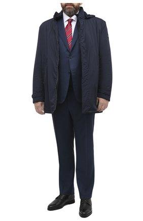 Мужская утепленная куртка PAUL&SHARK темно-синего цвета, арт. C0P2009/GHQ/3XL-6XL | Фото 2