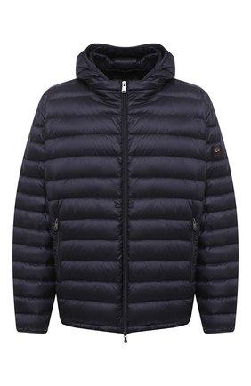 Мужская пуховая куртка PAUL&SHARK синего цвета, арт. C0P2008/GTX/3XL-6XL | Фото 1 (Кросс-КТ: Куртка, Пуховик; Мужское Кросс-КТ: пуховик-короткий, Пуховик-верхняя одежда, Верхняя одежда; Рукава: Длинные; Материал внешний: Синтетический материал; Материал подклада: Синтетический материал; Длина (верхняя одежда): Короткие; Материал утеплителя: Пух и перо; Стили: Кэжуэл)