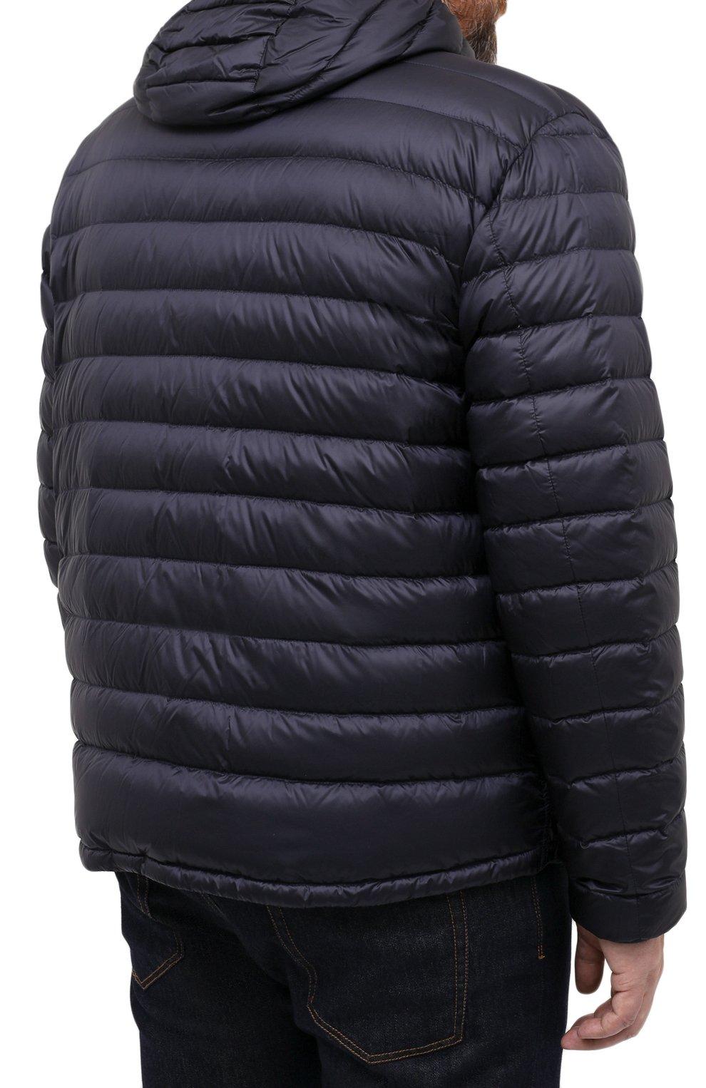 Мужская пуховая куртка PAUL&SHARK синего цвета, арт. C0P2008/GTX/3XL-6XL | Фото 4 (Кросс-КТ: Куртка, Пуховик; Мужское Кросс-КТ: пуховик-короткий, Пуховик-верхняя одежда, Верхняя одежда; Рукава: Длинные; Материал внешний: Синтетический материал; Материал подклада: Синтетический материал; Длина (верхняя одежда): Короткие; Материал утеплителя: Пух и перо; Стили: Кэжуэл)