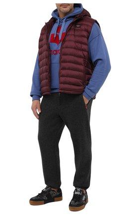 Мужской пуховый жилет PAUL&SHARK бордового цвета, арт. C0P2007/GTX/3XL-6XL | Фото 2