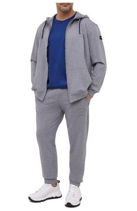 Мужской хлопковый спортивный костюм PAUL&SHARK серого цвета, арт. C0P1065/C00/3XL-6XL | Фото 1