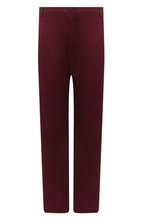 Мужские хлопковые брюки POLO RALPH LAUREN бордового цвета, арт. 711713346/PRL BS DENIM | Фото 1