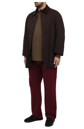 Мужские хлопковые брюки POLO RALPH LAUREN бордового цвета, арт. 711713346/PRL BS DENIM | Фото 2