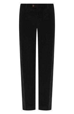 Мужской хлопковые брюки HILTL зеленого цвета, арт. 74818/60-70 | Фото 1