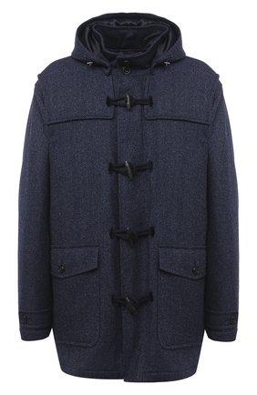Мужской шерстяное пальто PAUL&SHARK темно-синего цвета, арт. I20P2515/HU9/3XL-6XL | Фото 1