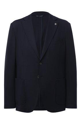 Мужской пиджак PAUL&SHARK темно-синего цвета, арт. I20P2620/HUM/62-64 | Фото 1