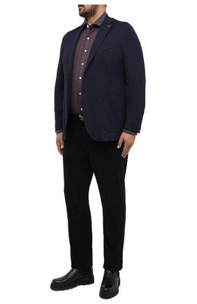 Мужской пиджак PAUL&SHARK темно-синего цвета, арт. I20P2620/HUM/62-64 | Фото 2