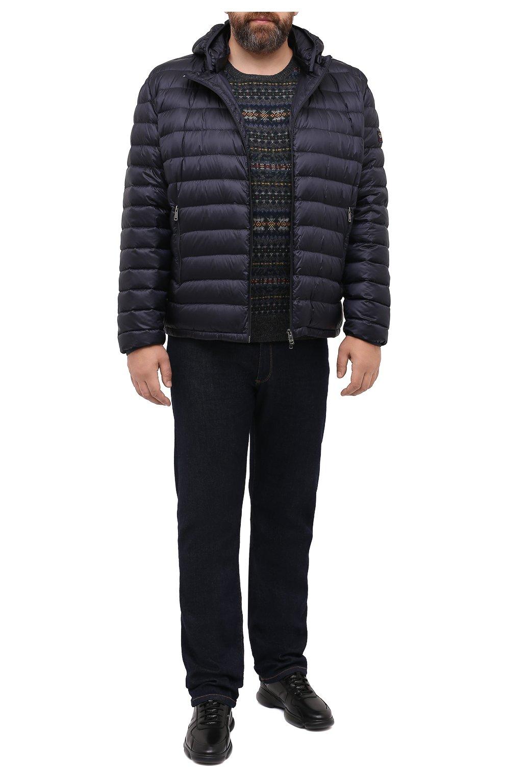 Мужской шерстяной свитер POLO RALPH LAUREN серого цвета, арт. 711814717/PRL BS   Фото 2 (Big sizes: Big Sizes; Материал внешний: Шерсть; Рукава: Длинные; Длина (для топов): Стандартные; Стили: Кэжуэл)