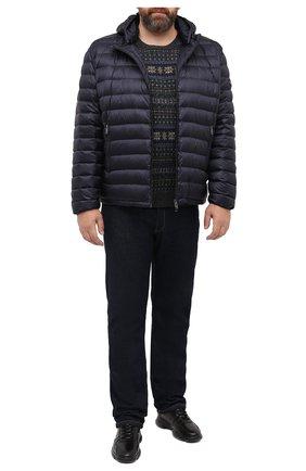 Мужской шерстяной свитер POLO RALPH LAUREN серого цвета, арт. 711814717/PRL BS | Фото 2