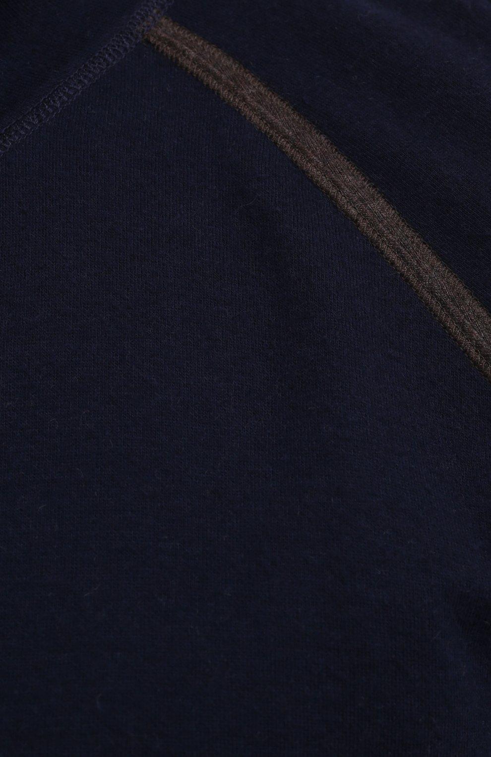 Мужской кардиган из хлопка и кашемира CORTIGIANI темно-синего цвета, арт. 914612/0000/60-70 | Фото 5 (Big sizes: Big Sizes; Мужское Кросс-КТ: Кардиган-одежда; Рукава: Длинные; Длина (для топов): Стандартные; Материал внешний: Хлопок; Стили: Кэжуэл)