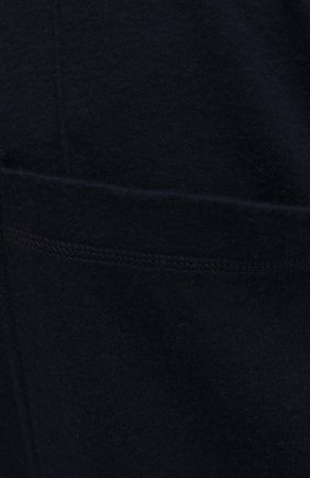 Мужские брюки из хлопка и кашемира CORTIGIANI темно-синего цвета, арт. 914613/0000/60-70 | Фото 5 (Big sizes: Big Sizes; Мужское Кросс-КТ: Брюки-трикотаж; Длина (брюки, джинсы): Стандартные; Случай: Повседневный; Материал внешний: Хлопок; Стили: Спорт-шик)
