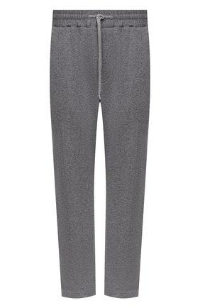 Мужские брюки из хлопка и кашемира CORTIGIANI серого цвета, арт. 914613/0000/60-70 | Фото 1