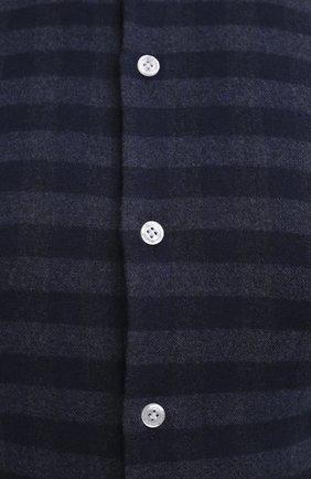 Мужская хлопковая рубашка SONRISA темно-синего цвета, арт. IL7/L1088/47-51 | Фото 5